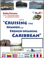 """Cruising the Spanish and French-speaking Caribbean"" seminar poster"